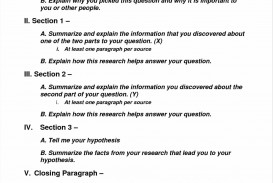 001 6th Grade Science Fair Research Paper Example Help With Papers Outstanding
