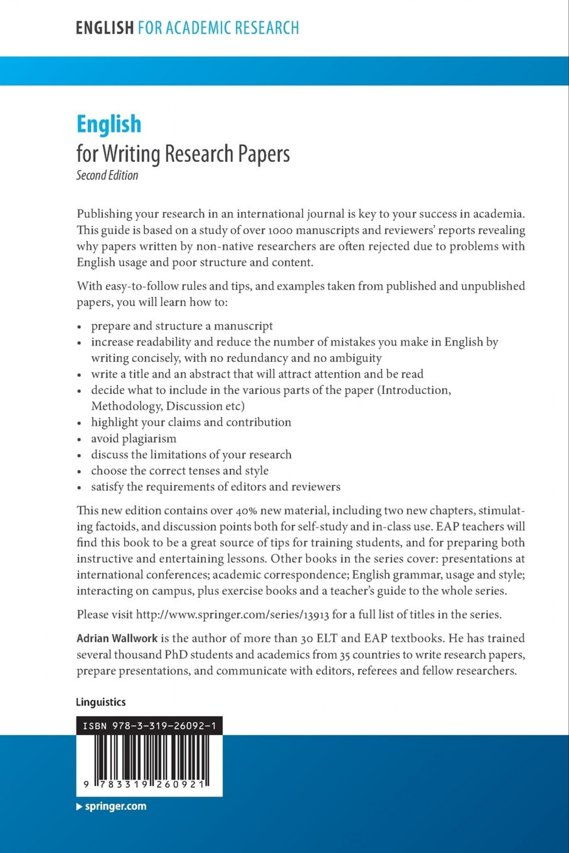 001 71eexuoeuql Research Paper English For Writing Papers Awesome Springer Pdf Useful Phrases - 1920