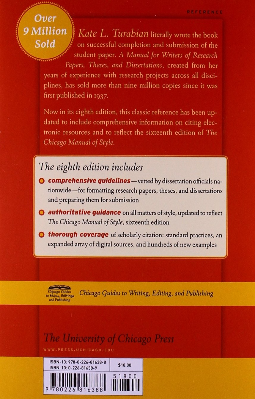 001 71fqcup2qbl Manual For Writers Of Researchs Theses And Dissertations 8th Edition Staggering A Research Papers Pdf