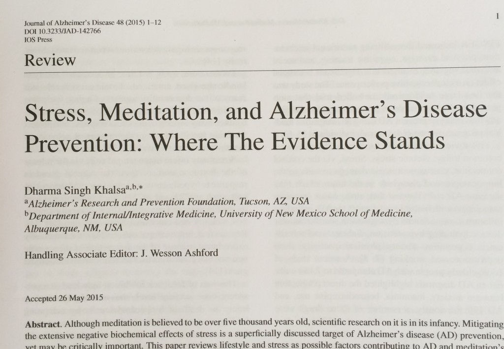 001 Abstract Alzheimers Research Paper Stress Article Exceptional Alzheimer's Large