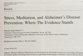 001 Abstract Alzheimers Research Paper Stress Article Exceptional Alzheimer's