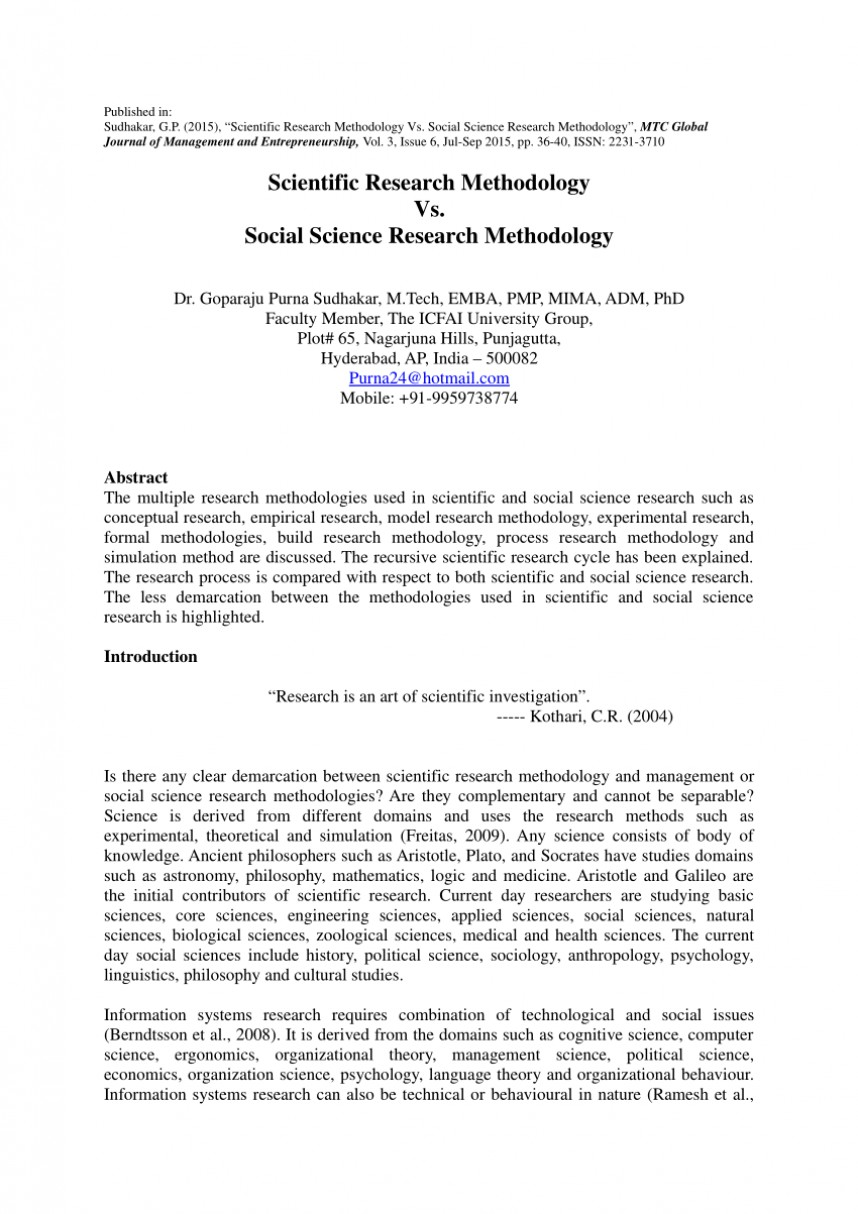 001 Abstract Of Scientific Research Paper Incredible A Example