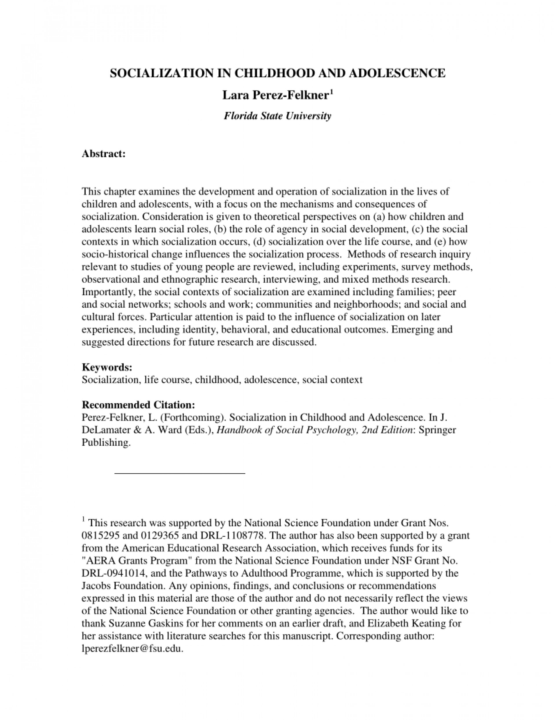 001 Abstract Research Paper About Child And Adolescent Development Pdf Outstanding 1920