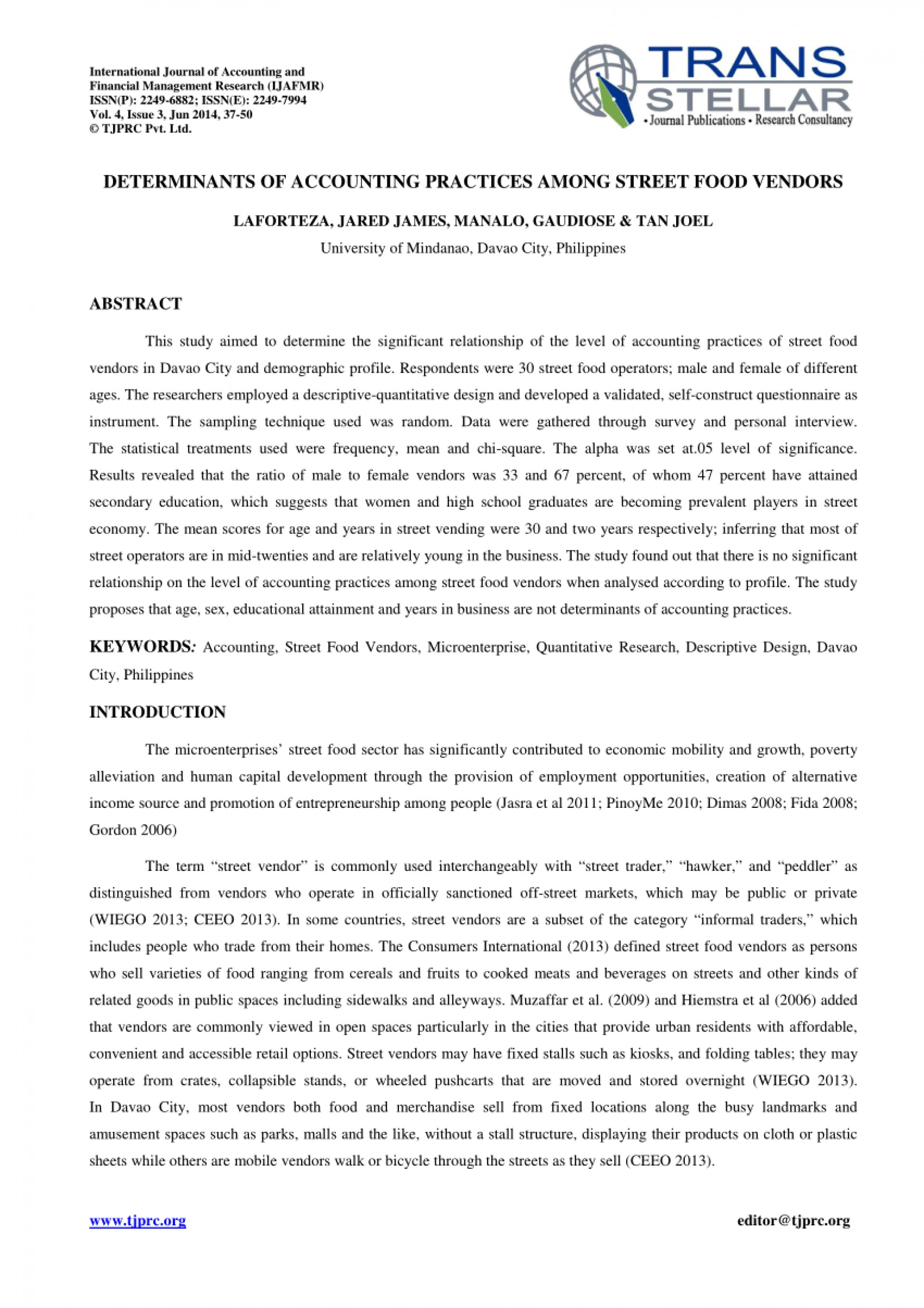 001 Accounting Research Paper Pdf Philippines Excellent On Example Sample About 1920