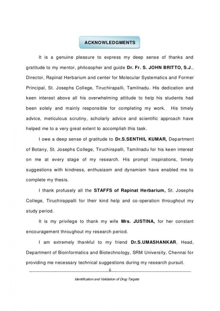 001 Acknowledgements Phpapp02 Thumbnail Research Paper Acknowledgement For Unbelievable Students 728