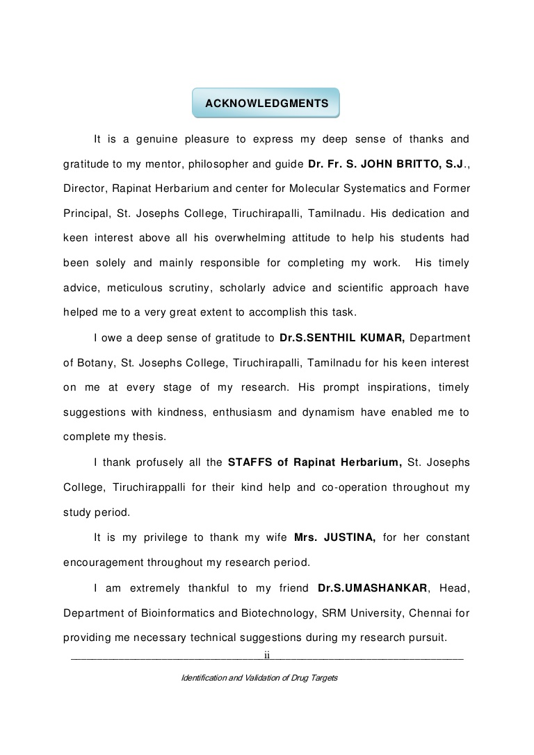 001 Acknowledgements Phpapp02 Thumbnail Research Paper Acknowledgement For Unbelievable Students Full