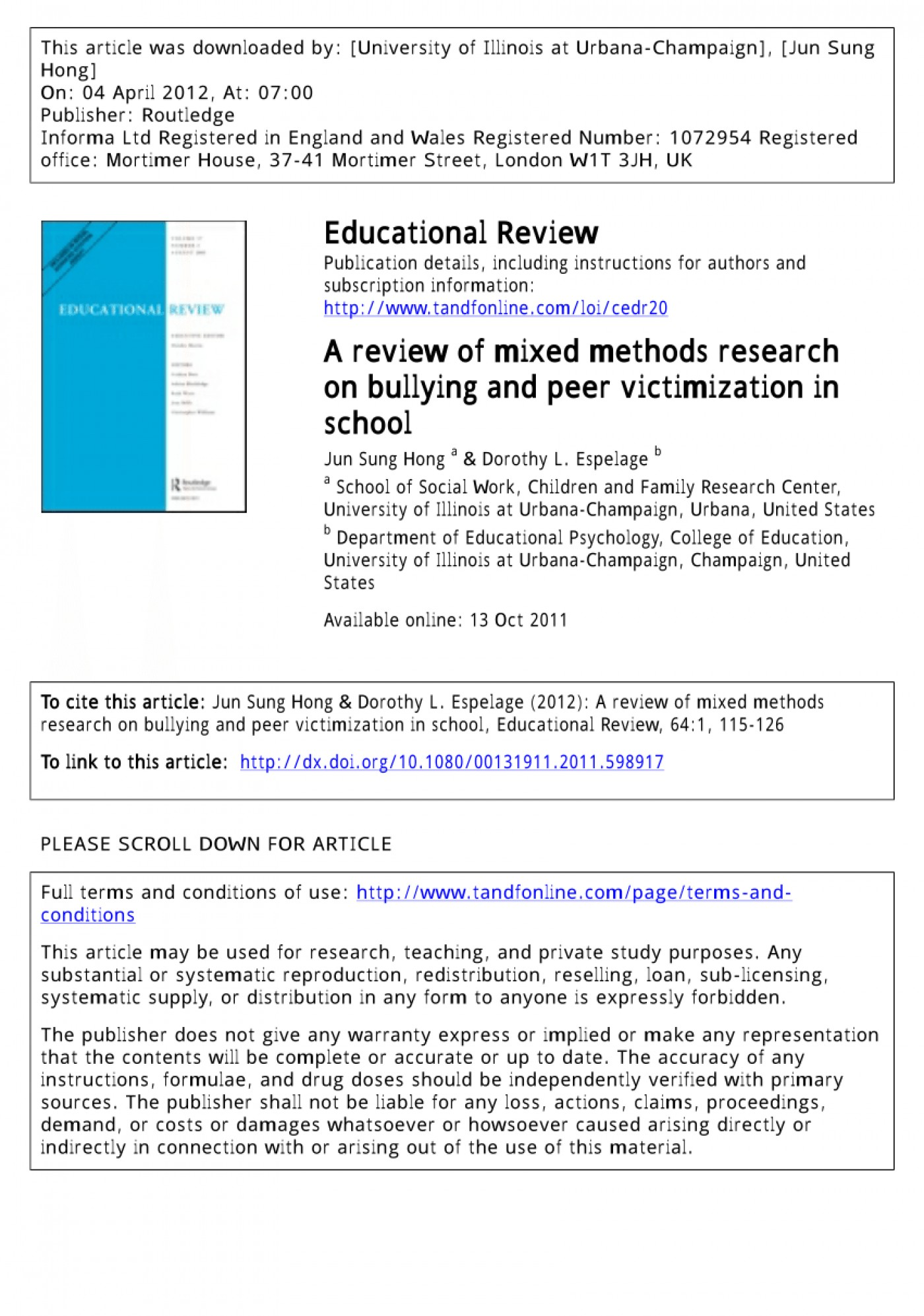 001 Action Research Study On Bullying Largepreview Surprising 1400