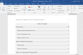 001 Apa Format Research Paper Table Of Contents Amazing Sample Example