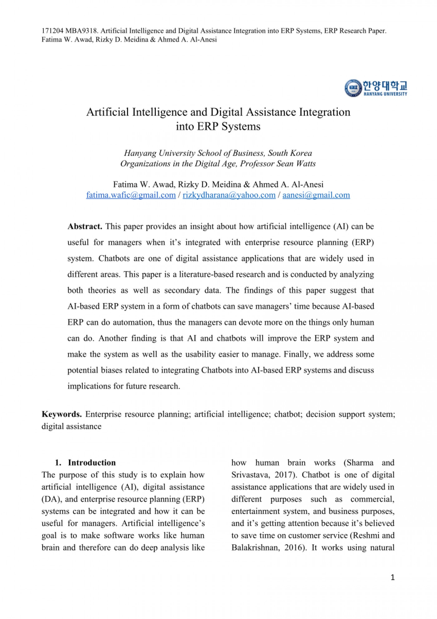 001 Artificial Intelligence Research Paper Topics Archaicawful Pdf 2018 1400