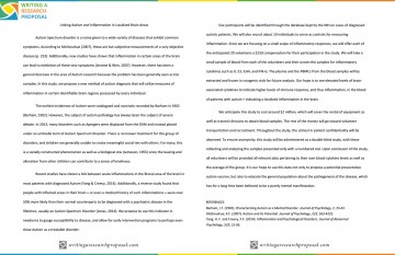 001 Autism Research Paper Apa Format Autistic Disorder Frightening - 360