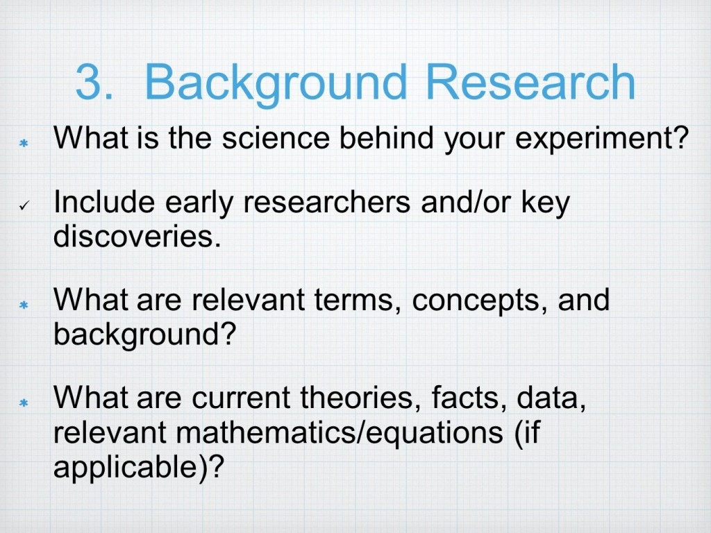 001 Backgroundresearchwhatisthesciencebehindyourexperiment Research Paper Background Example For Science Fantastic Fair Large