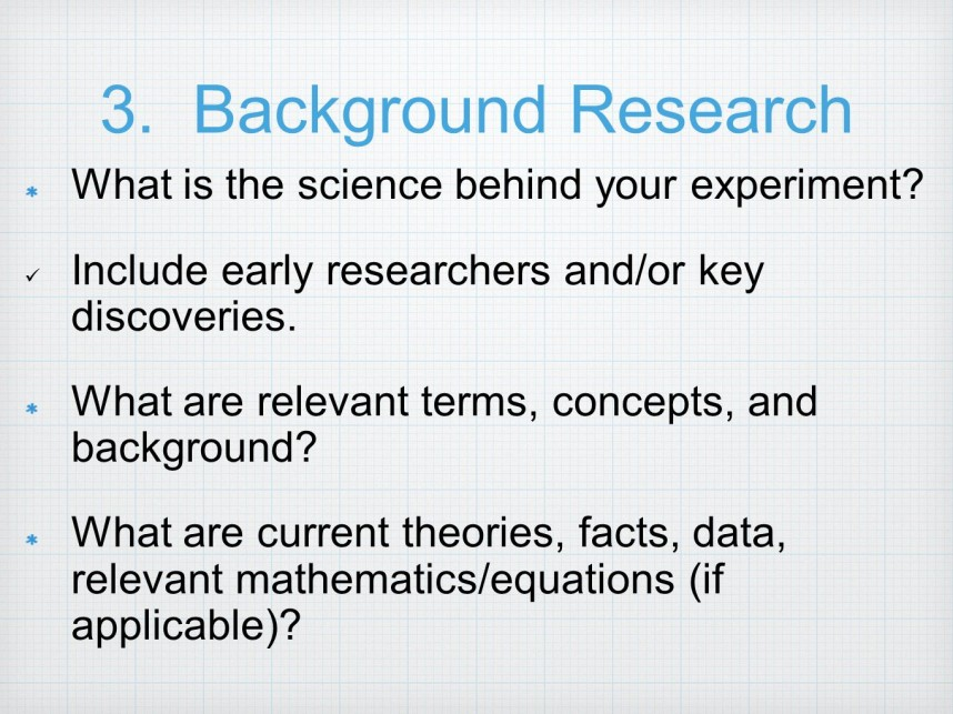 001 Backgroundresearchwhatisthesciencebehindyourexperiment Research Paper Background Example For Science Fantastic Fair
