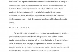 001 Bshs2043520week120paper20a Page Example Of Scientific Method Research Remarkable Paper Using