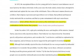 001 Citation Research Paper Sample Examplepaper Page 1 Shocking Example Chicago Style Parenthetical