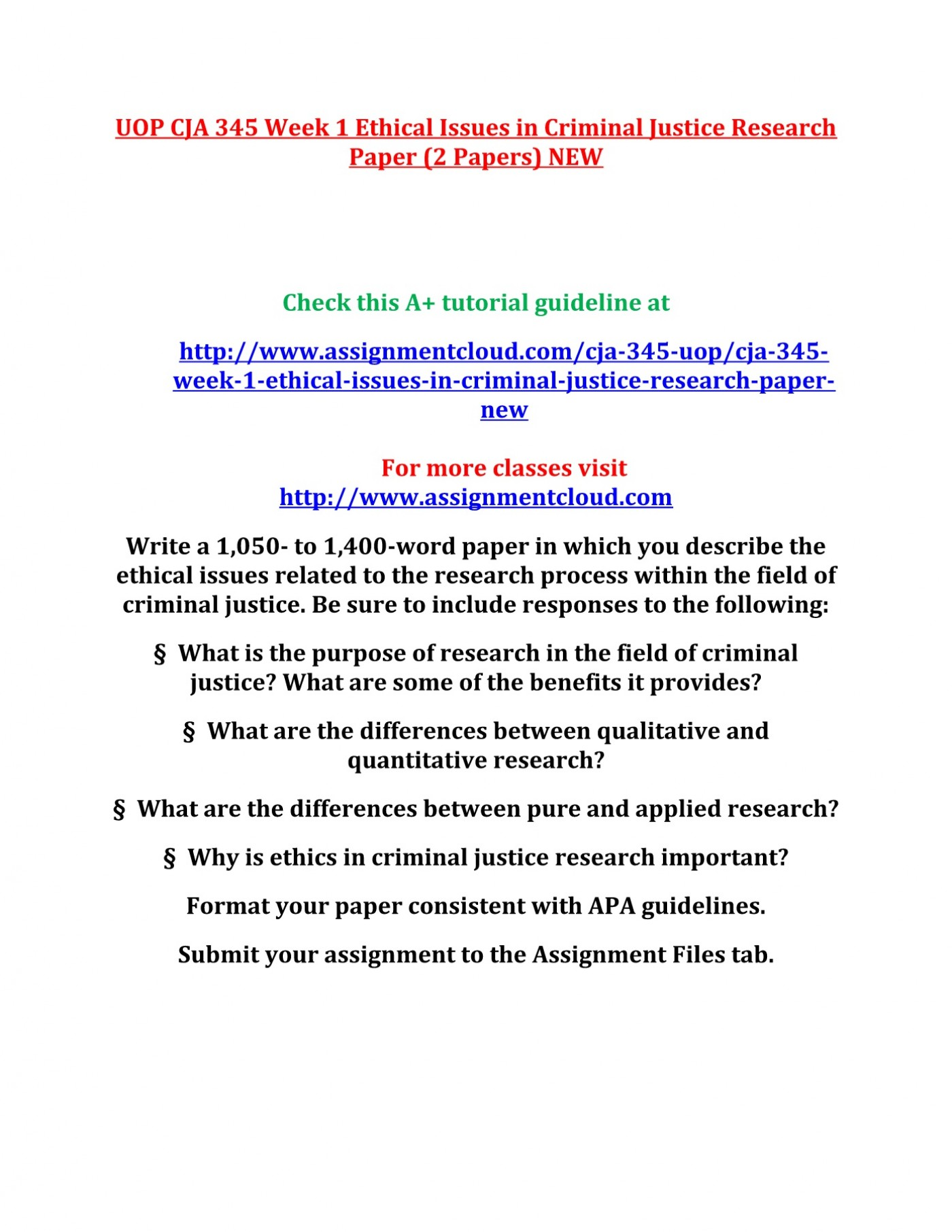 001 Criminal Justice Research Papers Paper Formidable Free Sample 1400