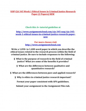 001 Criminal Justice Research Papers Paper Formidable Free Sample 360