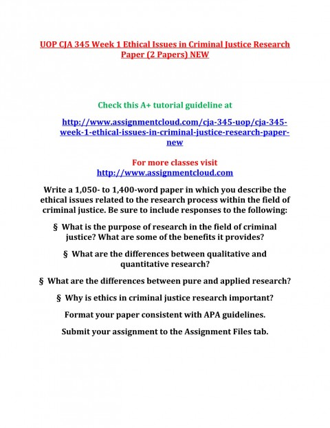 001 Criminal Justice Research Papers Paper Formidable Free Sample 480