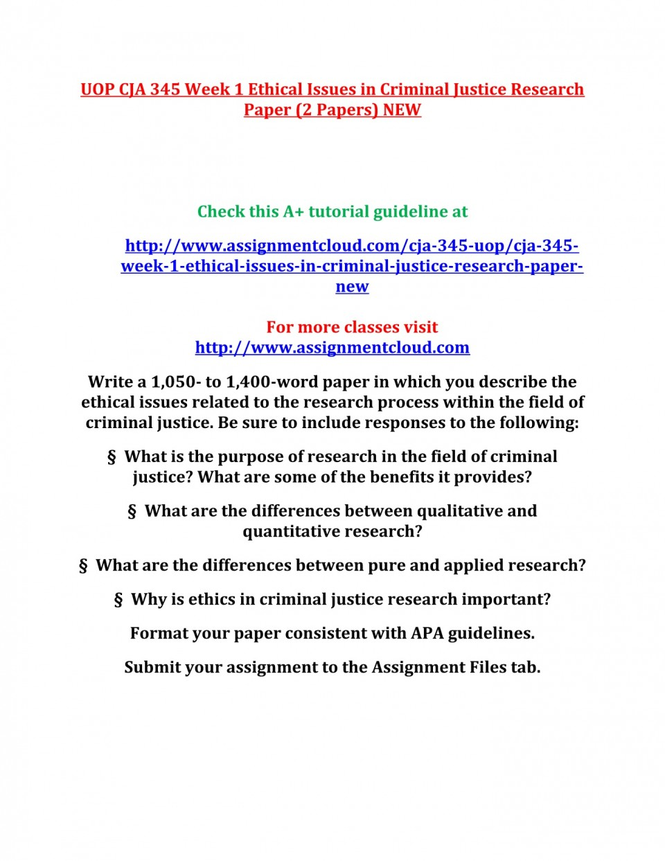 001 Criminal Justice Research Papers Paper Formidable Free Sample 960