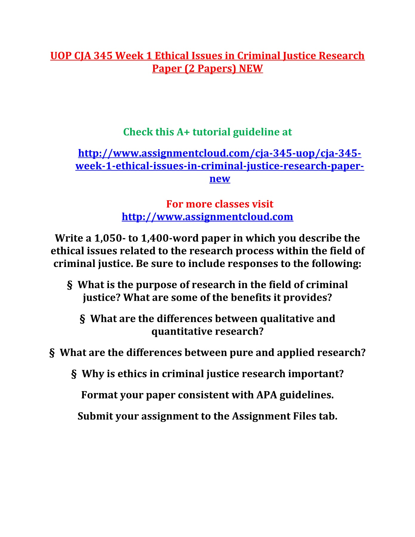 001 Criminal Justice Research Papers Paper Formidable Examples Of Free Full