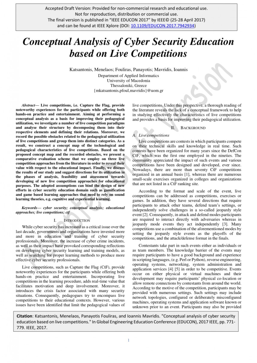 001 Cyber Security Research Papers Ieee Paper Imposing