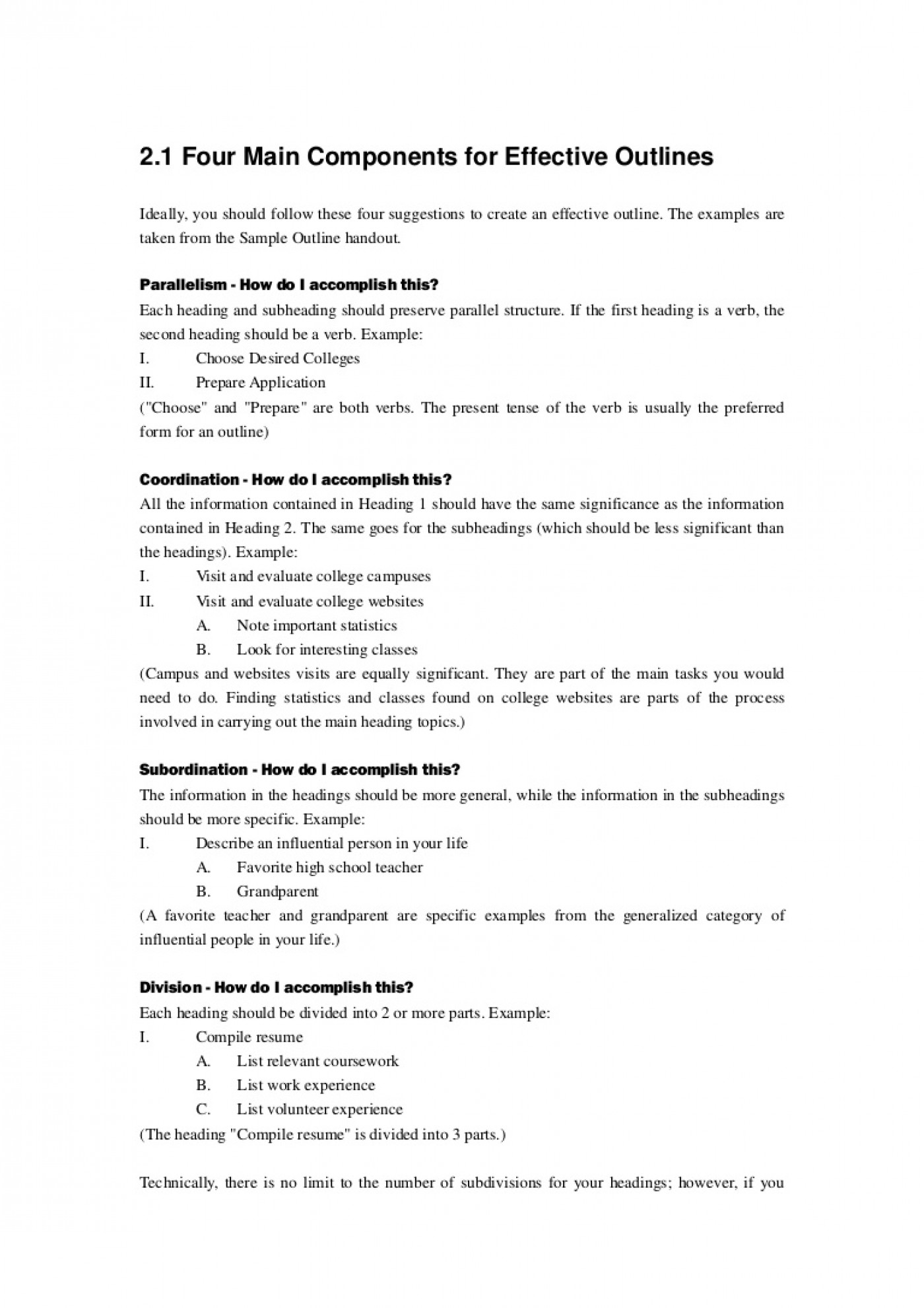 001 Developing Research Paper Outline Thumbnail Singular A 1400