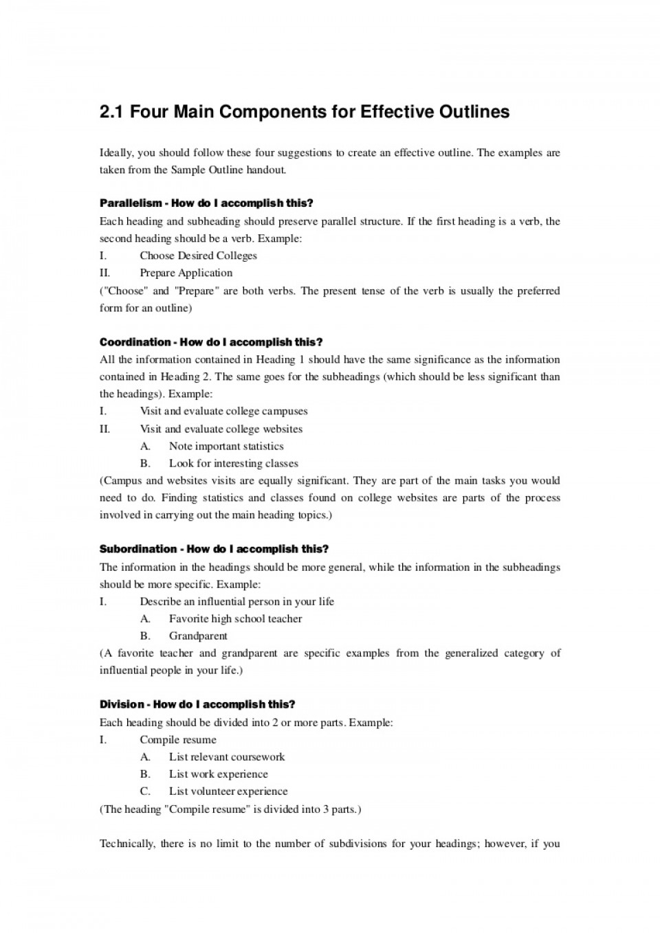 001 Developing Research Paper Outline Thumbnail Singular A 960
