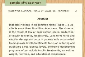 001 Diabetes Research Paper Apa Format Write An Style Step Version Stirring