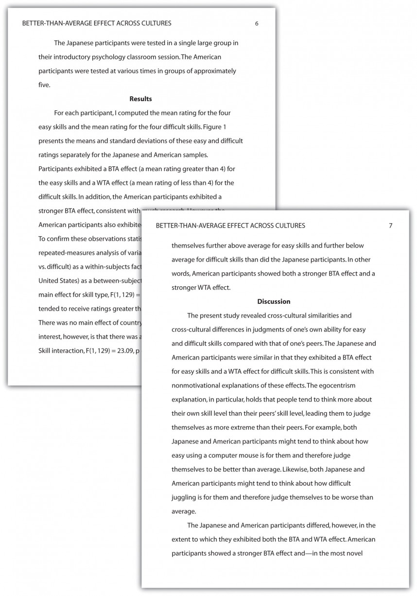 001 Discussion Section Of Research Paper Sensational A Apa Apa-style Sample