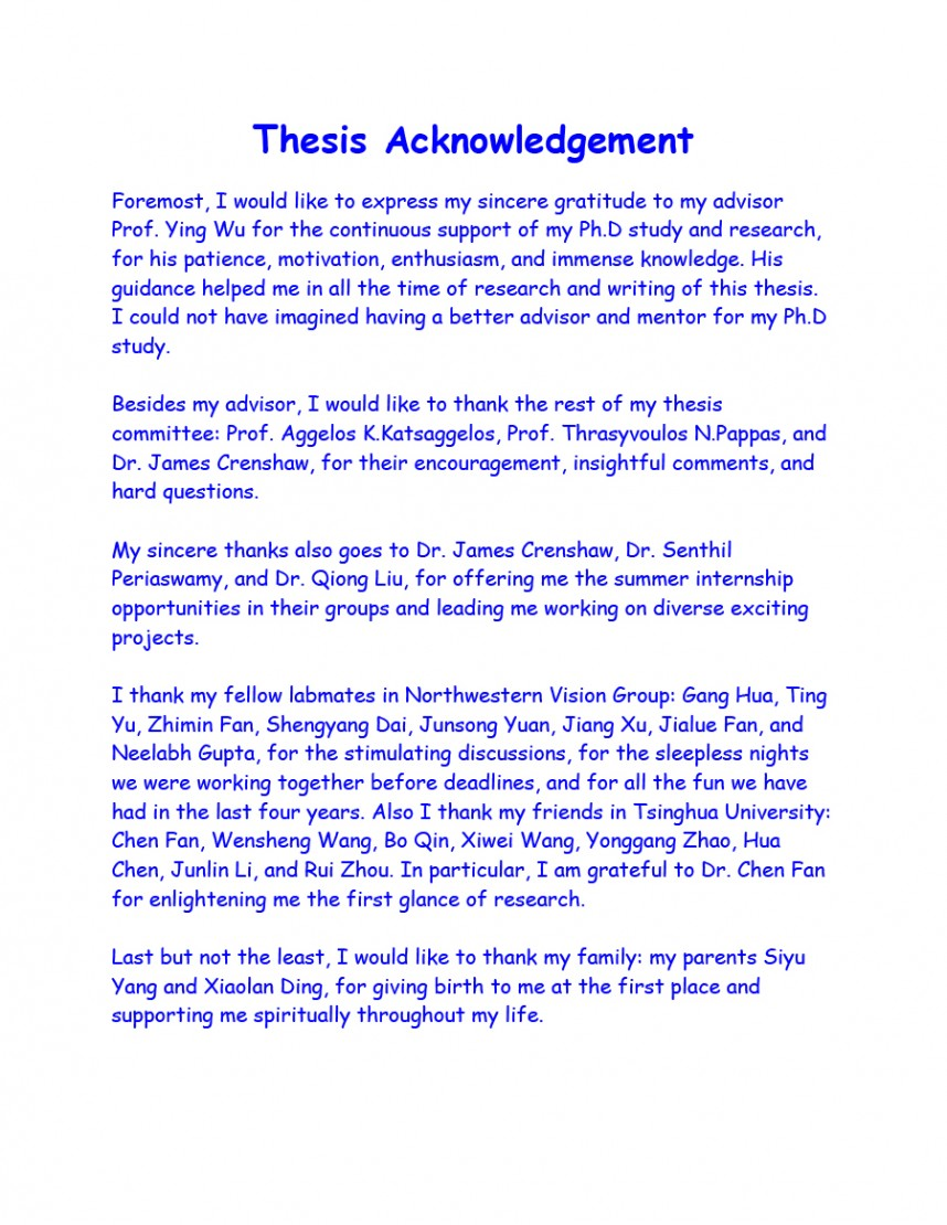 001 Example Of Acknowledgement In Research Paper Pdf Sample Fearsome Group Dedication And