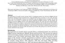 001 Example Of Imrad Research Paper Pdf Stupendous Sample
