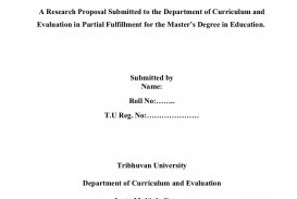 001 Example Of Research Proposal Paper In Education Impressive