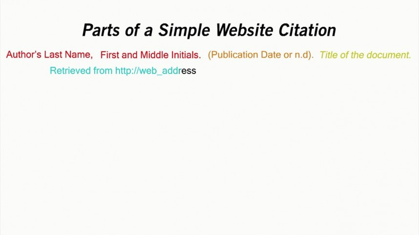 001 How To Cite Website In Research Paper Apa Best A Reference