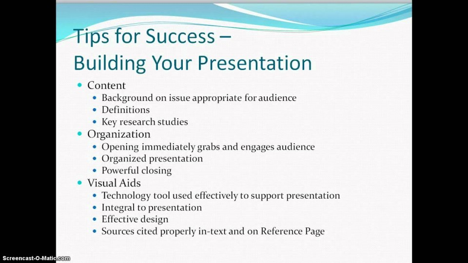 001 How To Write Research Paper Powerpoint Presentation Awesome A 960