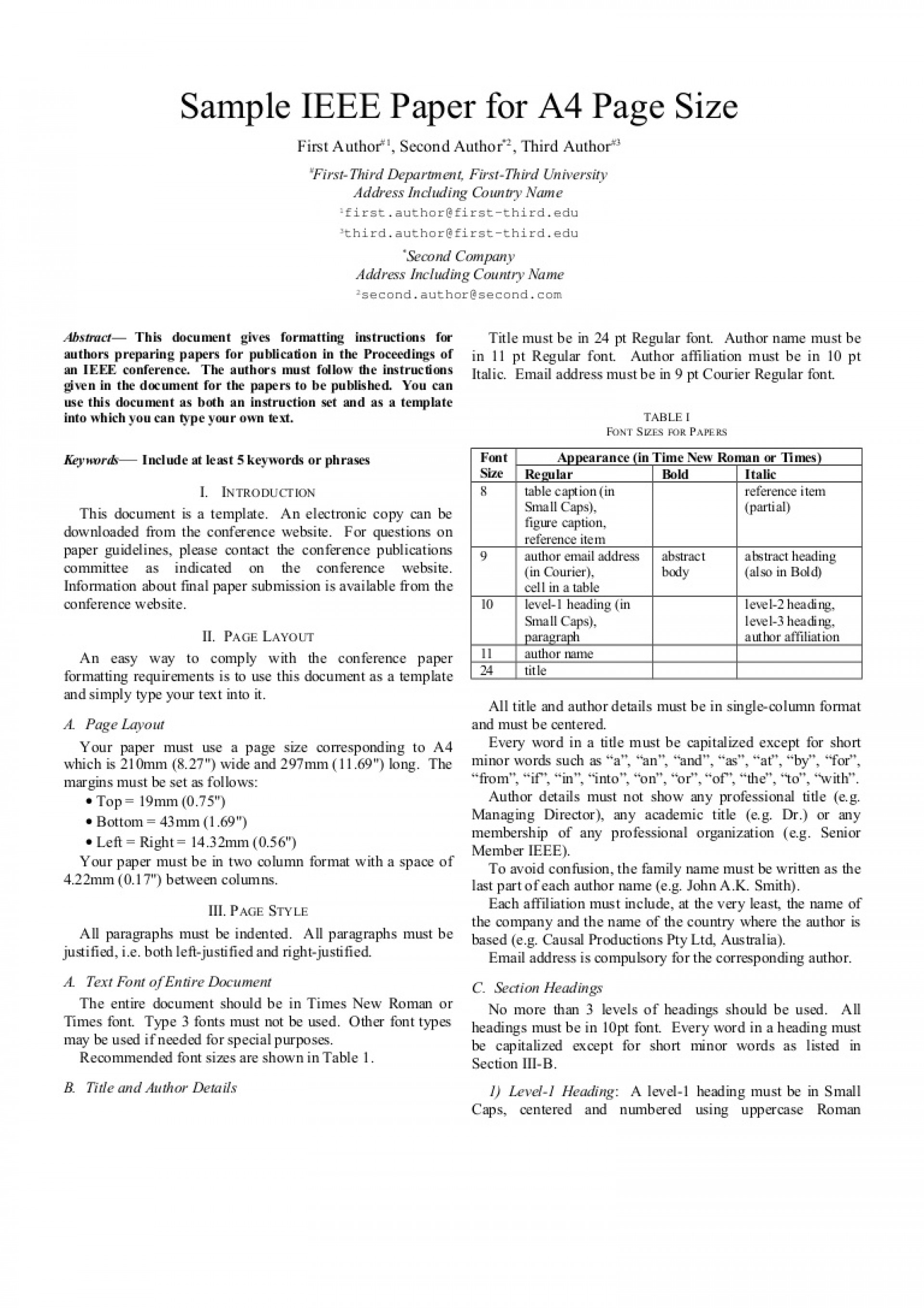 001 Ieee Research Paper Format Sample Ieeepaperformat Thumbnail Archaicawful 1920