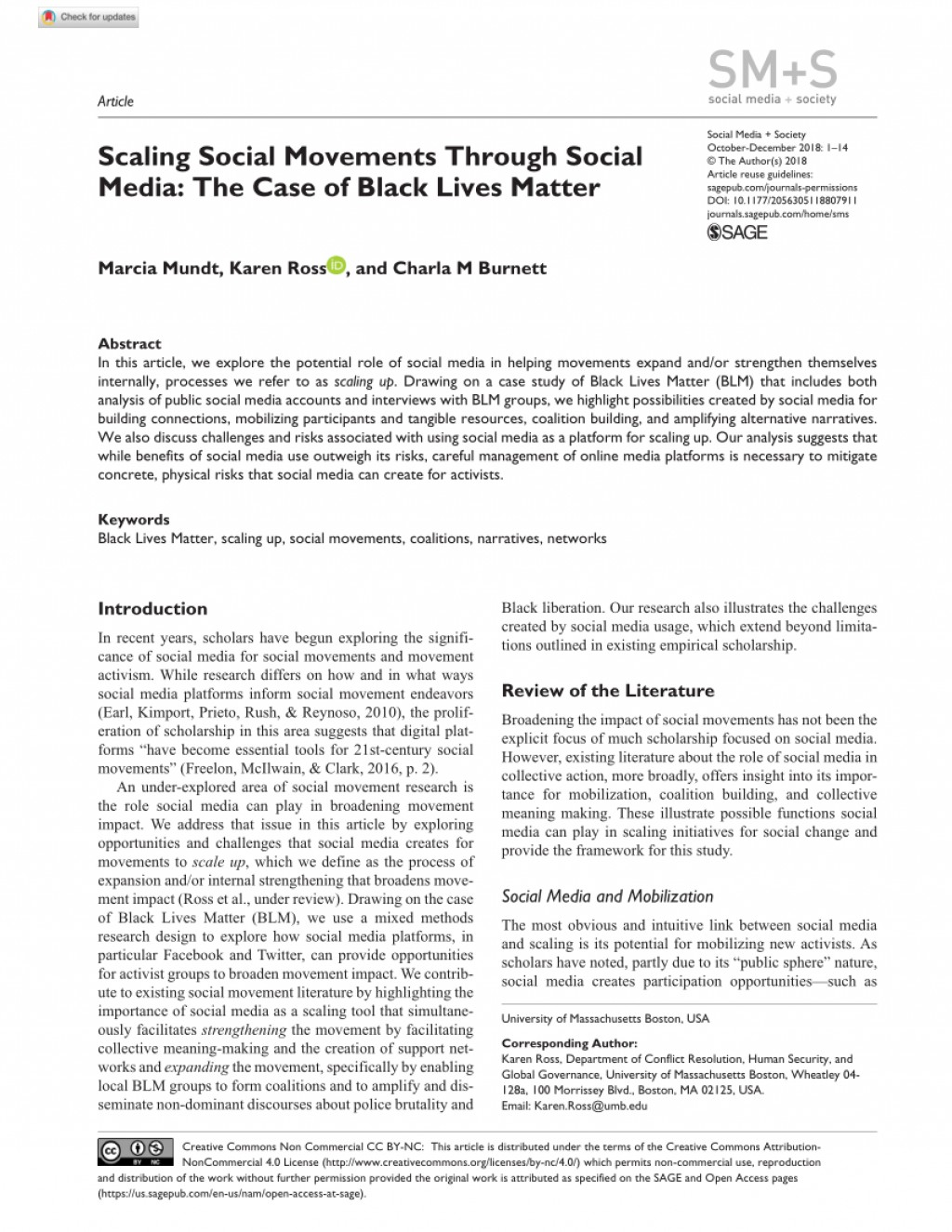 001 Largepreview Black Lives Matter Research Outstanding Paper Movement Large