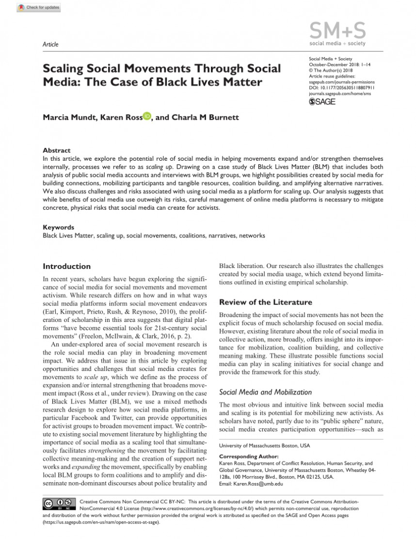 001 Largepreview Black Lives Matter Research Outstanding Paper Movement