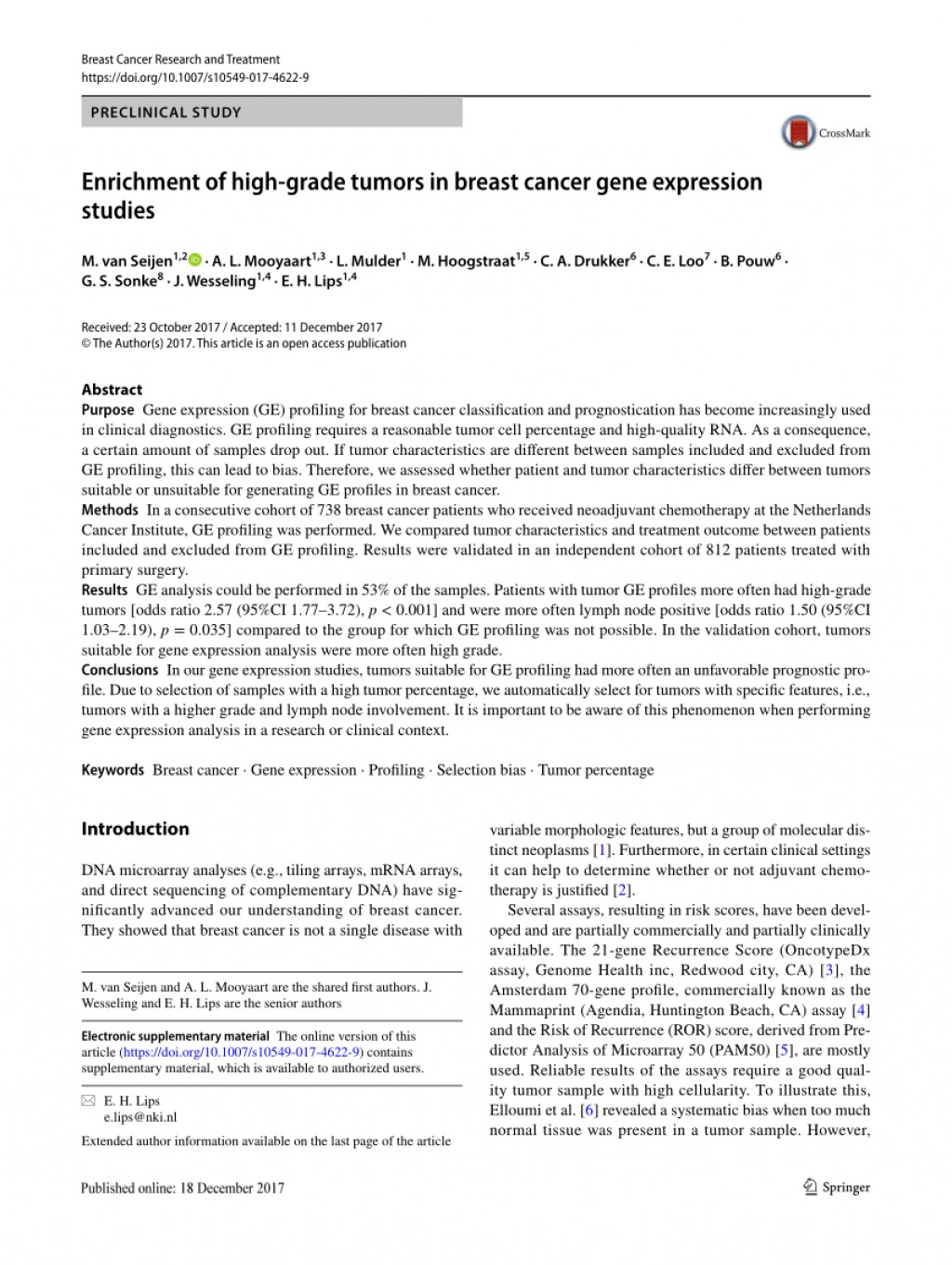 001 Largepreview Breast Cancer Gene Researchs Dreaded Research Papers Large
