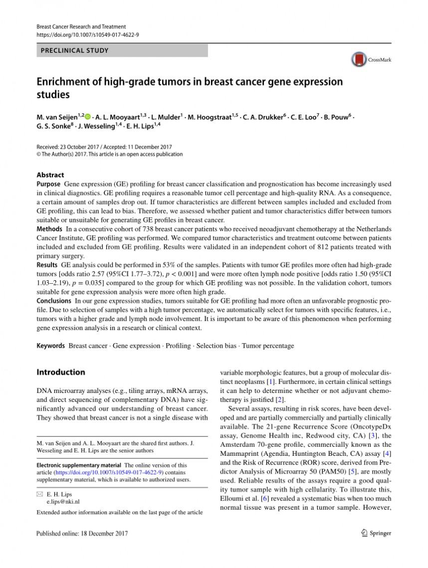 001 Largepreview Breast Cancer Gene Researchs Dreaded Research Papers