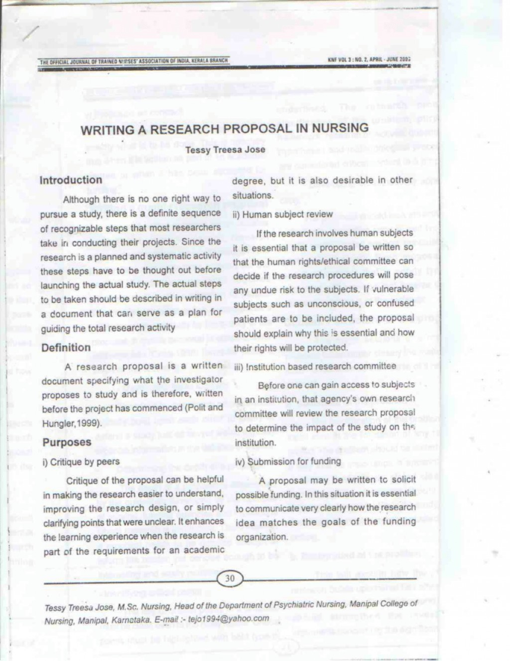 001 Largepreview Example Of Research Proposal Paper In Exceptional Nursing Large
