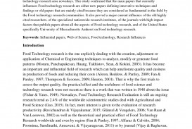 001 Largepreview Food Technology Researchs Top Research Papers Pdf Science And