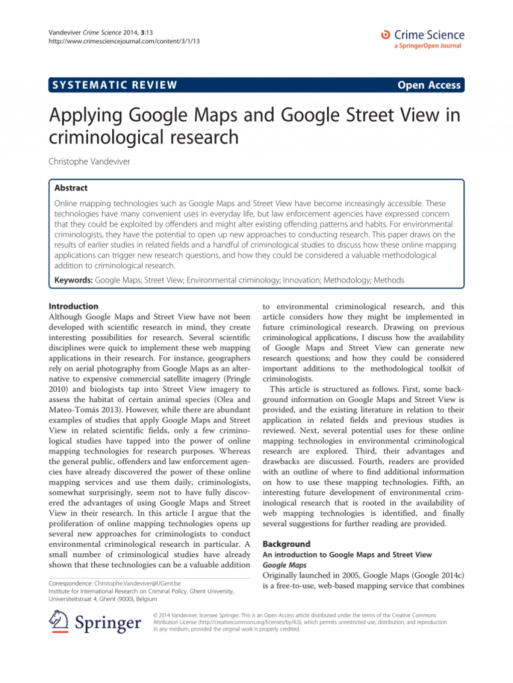 001 Largepreview Google Maps Researchs Wonderful Research Papers Large