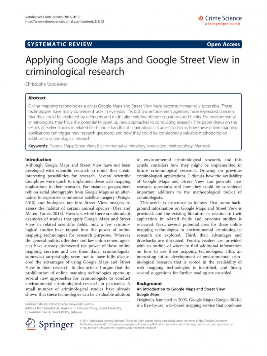 001 Largepreview Google Maps Researchs Wonderful Research Papers