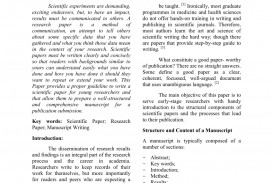 001 Largepreview How To Write Good Abstract For Scientific Research Beautiful A Paper