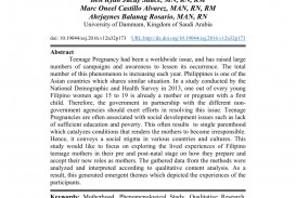 001 Largepreview Introduction Of Research Paper About Teenage Incredible A Pregnancy In The Philippines On