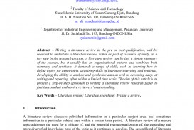 001 Largepreview Research Paper Example Of Review Literature Unusual In Writing Related And Studies A Pdf