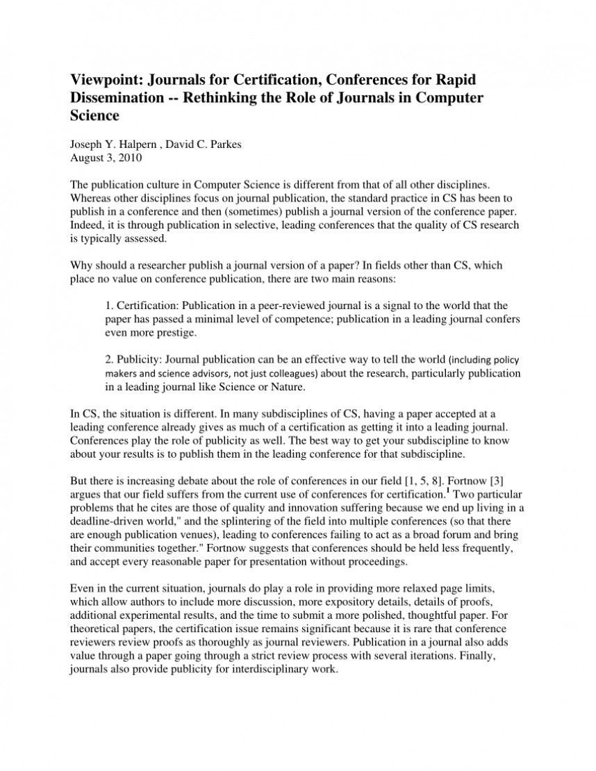 001 Largepreview Research Paper How To Publish In Computer Fearsome A Science