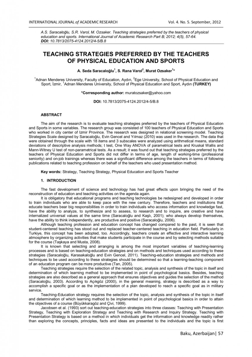 001 Largepreview Research Paper Physical Education Phenomenal Pdf Thesis Topics In