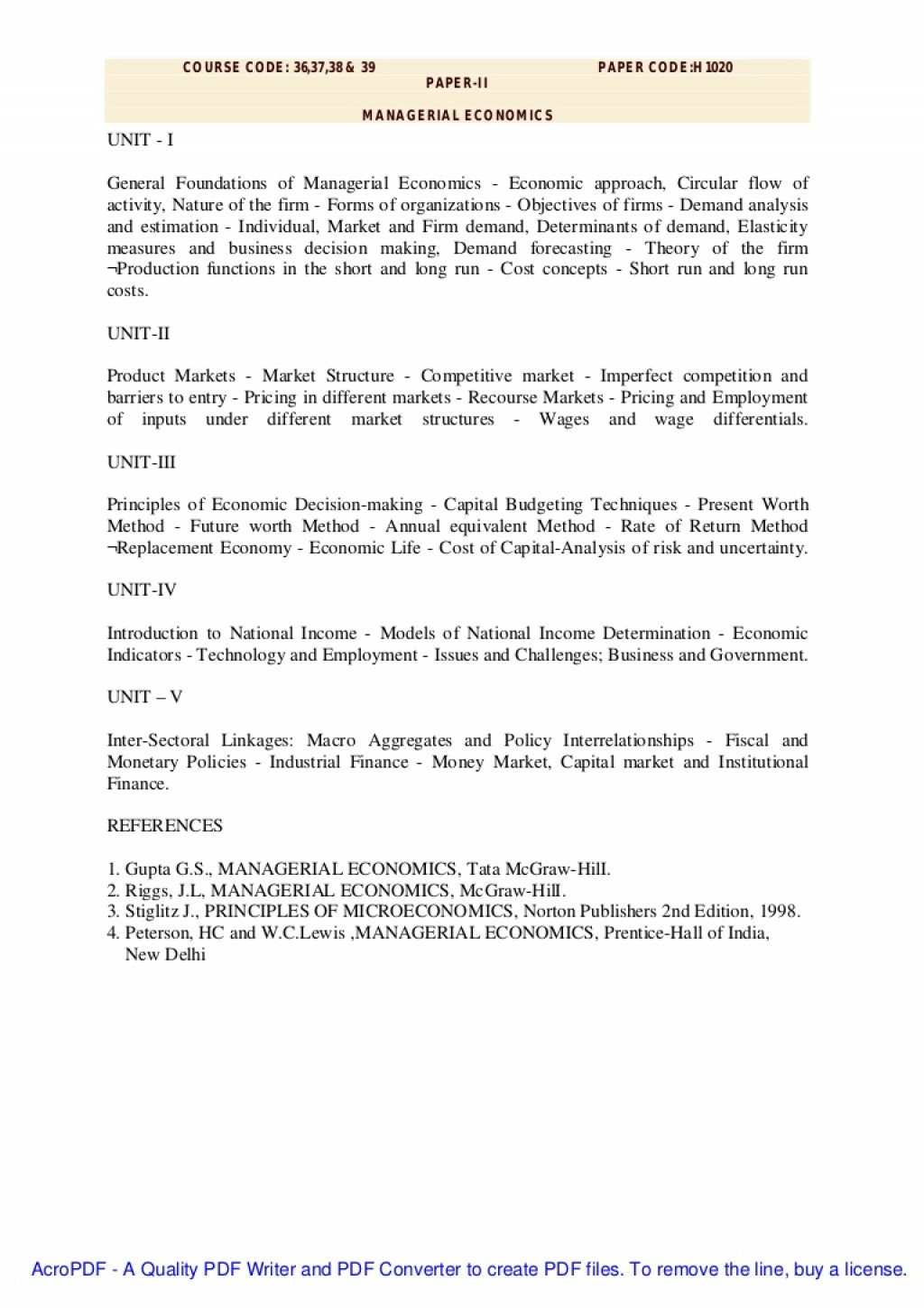 Staggering Managerial Economics Research Paper Topics ~ Museumlegs
