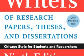 001 Manual For Writers Of Researchs Theses And Dissertations 9th Edition Frightening A Research Papers Pdf