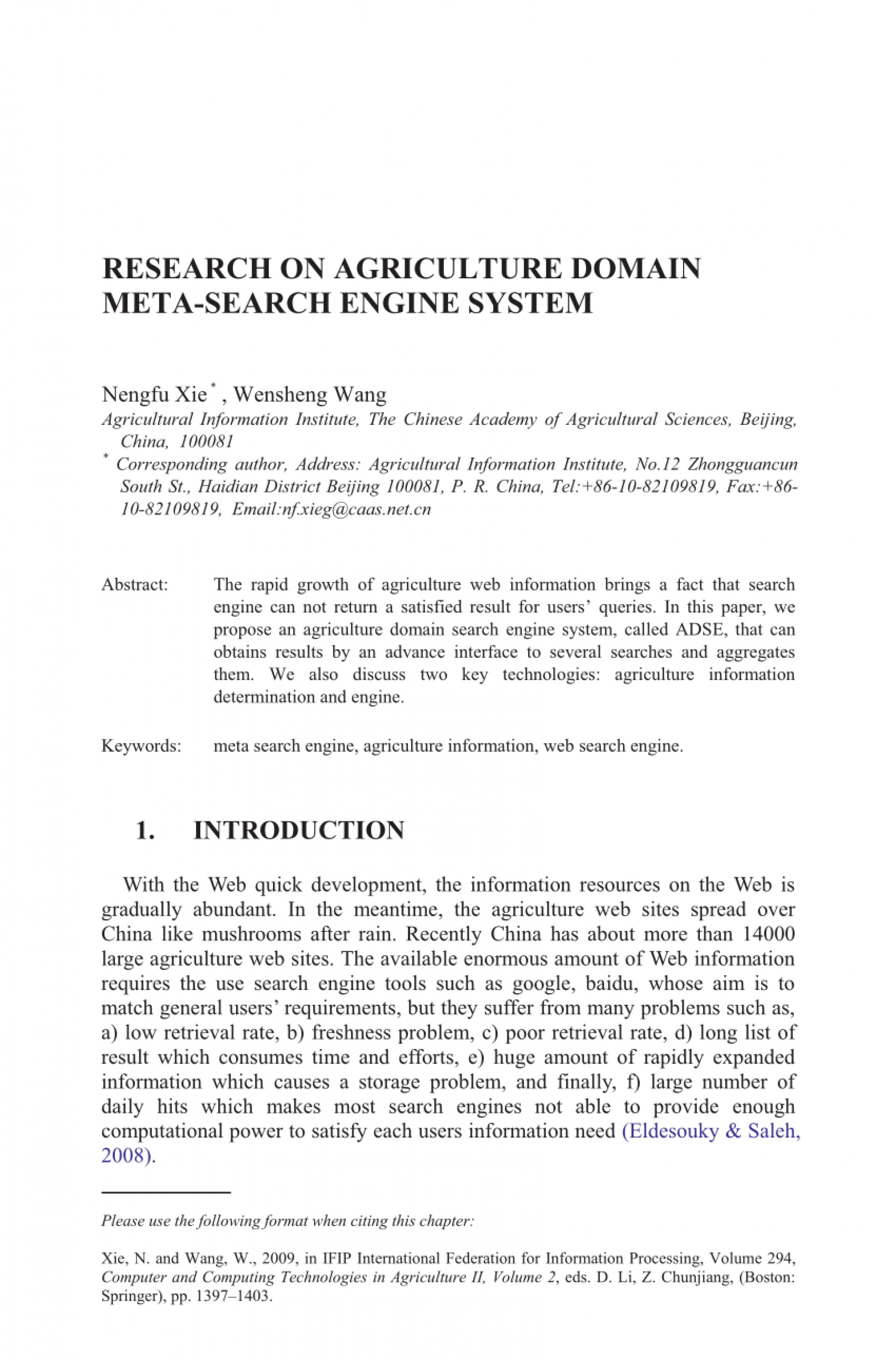 001 Meta Search Engine Research Paper Formidable 1920